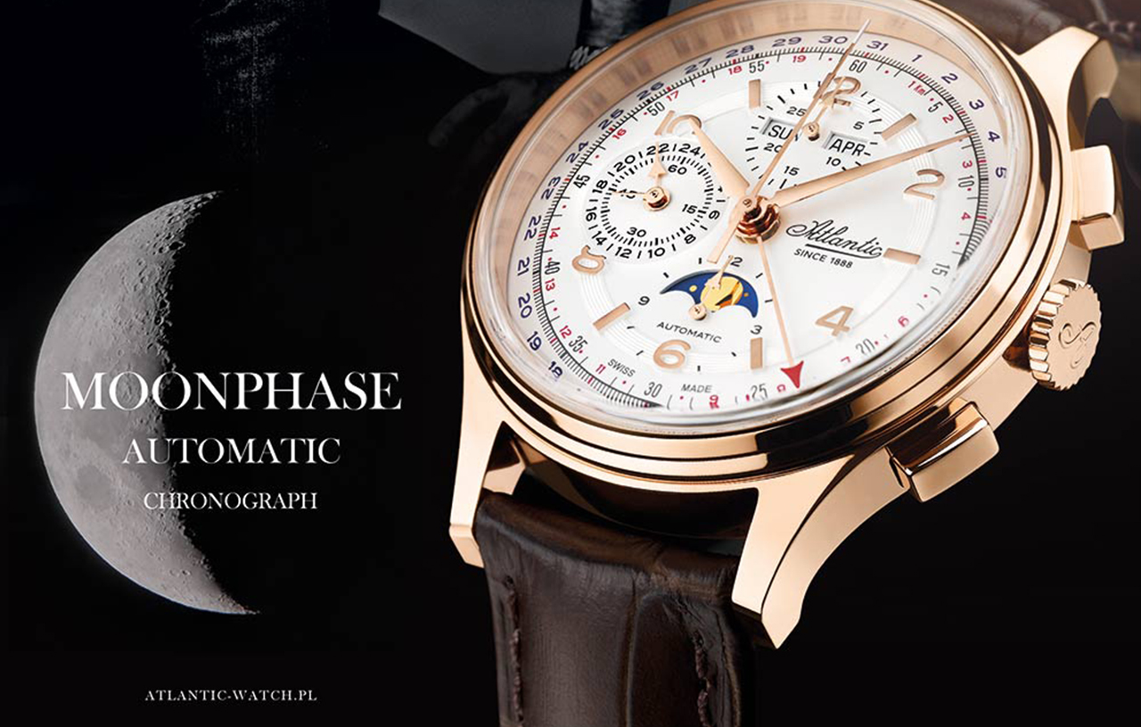 Spektakularny Moonphase - Atlantic Moonphase!