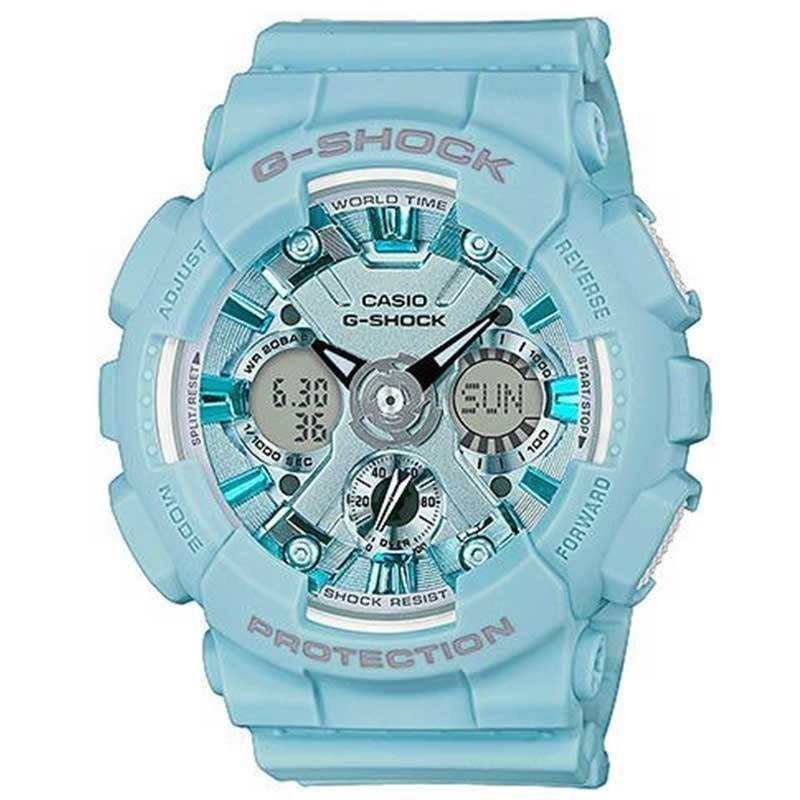 Zegarek damski CASIO G-SHOCK GMA-S120DP-2AER | Limited Edition by Pastel Colour