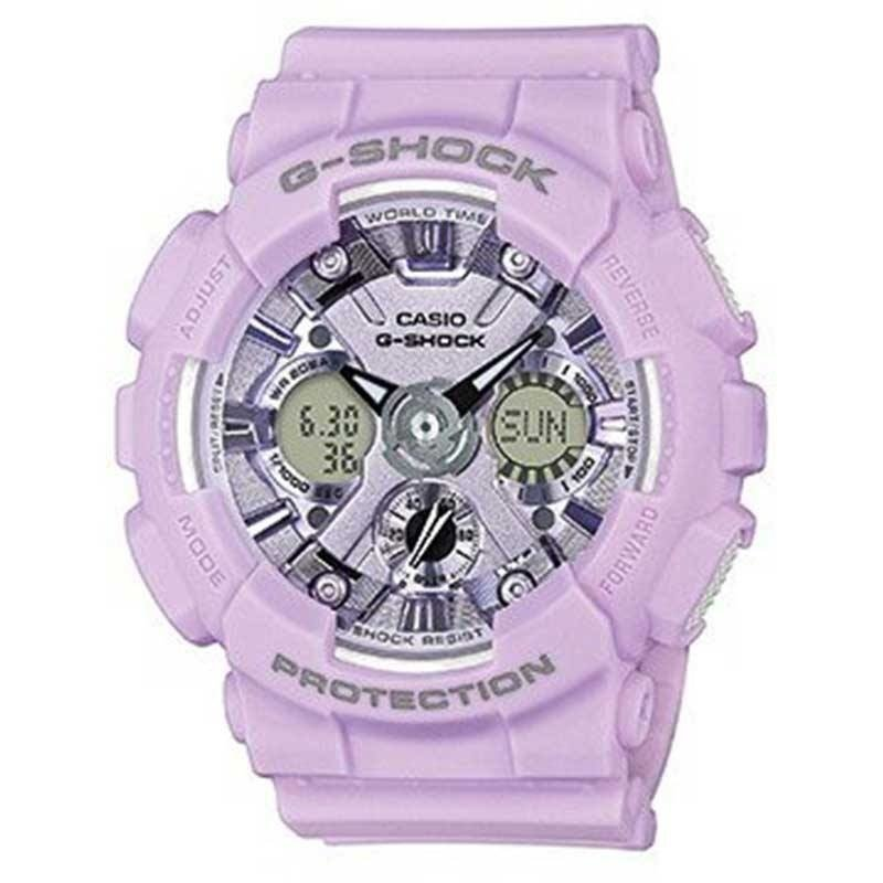 Zegarek damski CASIO G-SHOCK GMA-S120DP-6AER | Limited Edition by Pastel Colour