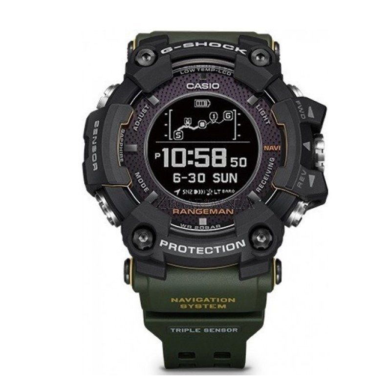 Pasek do zegarka Casio G-Shock Rangeman GPR-B1000 Black