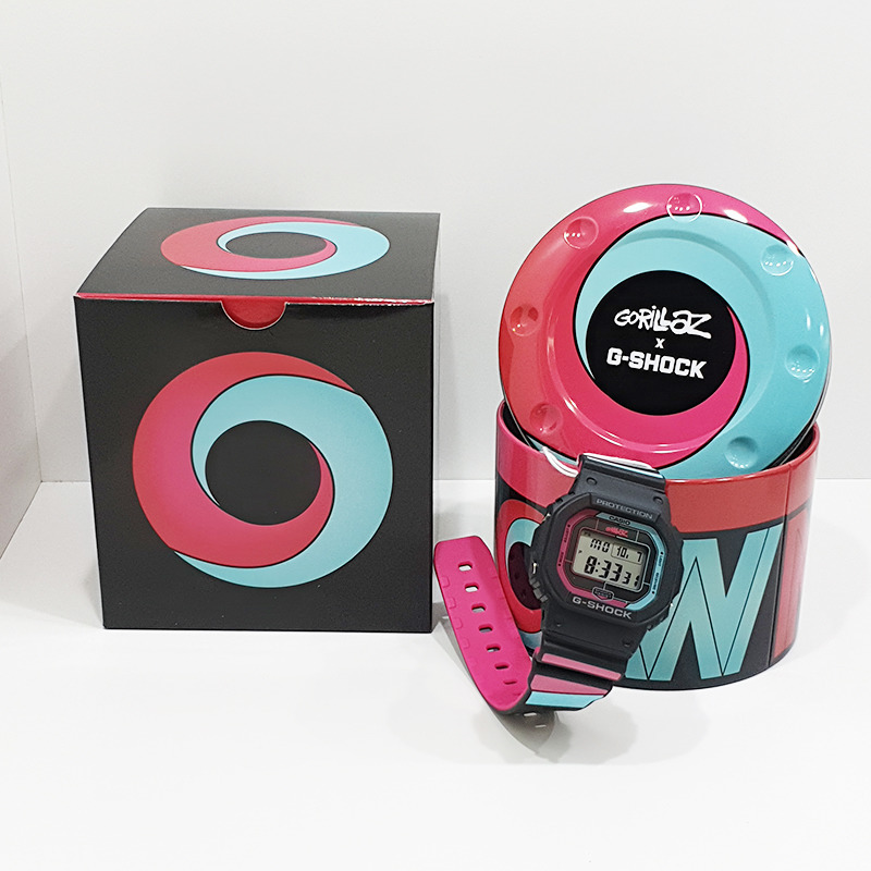 Zegare  Casio G-Shock Gorillaz Bluetooth Radio Solar Limited Edition GW-B5600GZ-1ER