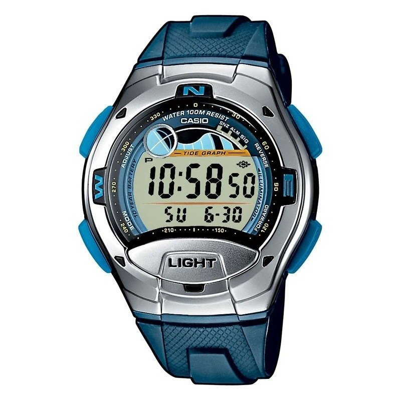 Zegarek digital Casio W-753-2AVES