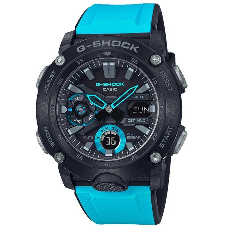 Zegarek męski Casio G-Shock Carbon Core Guard GA-2000E-1A2ER